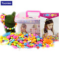 Perler Beads Handmade Set Girl DIY Plastic Hama Beads Fashion Toys For Girl Jewelry Puzzle Developing Intelligence Game For Kids