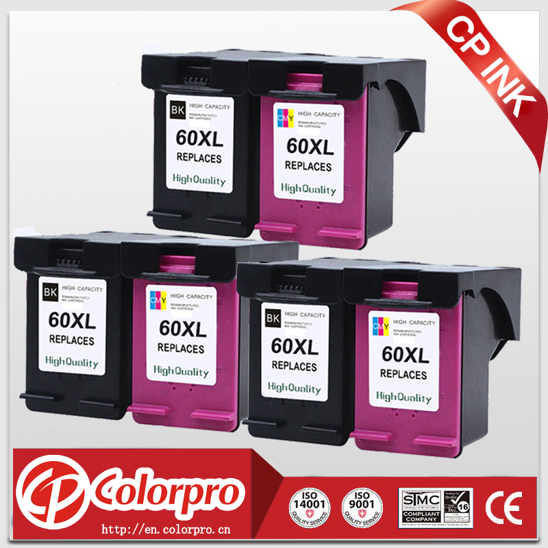 CP 60 High Quality Ink Cartridge for HP 60 60XL for HP Deskjet D1660 D2500 D2645