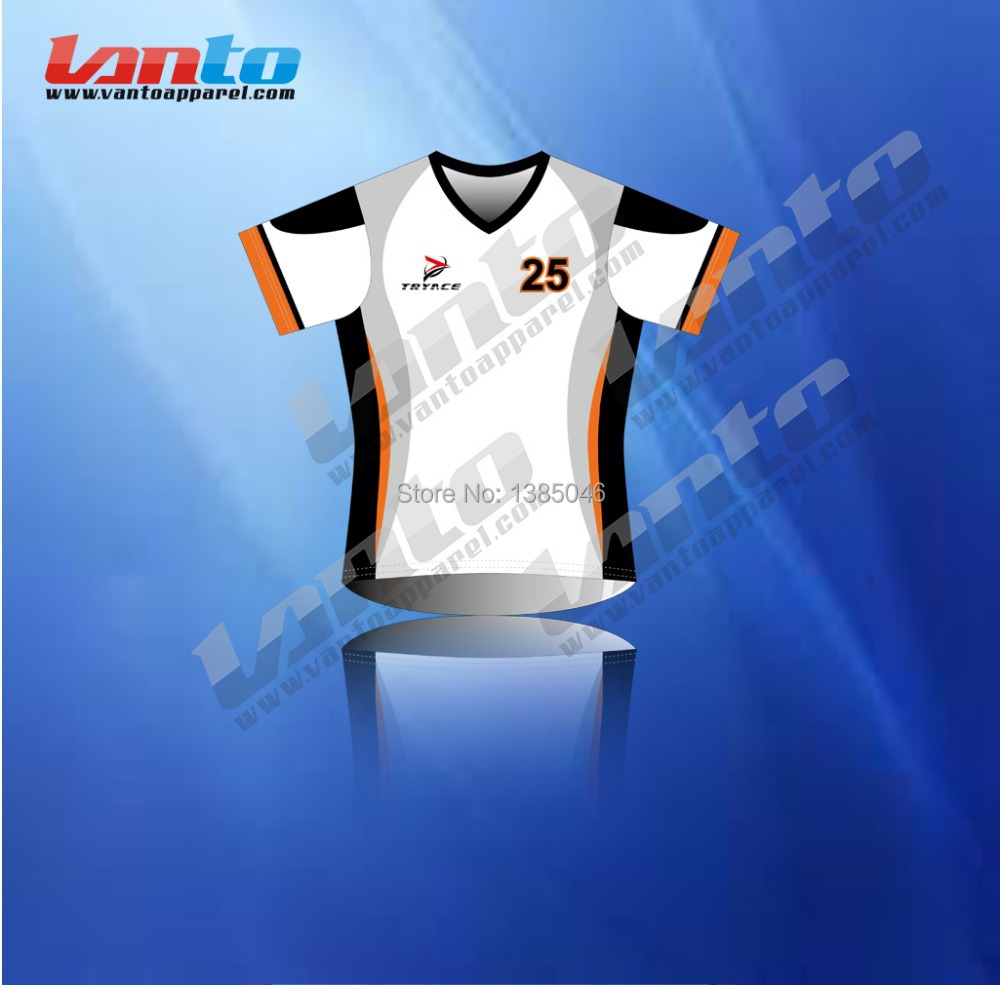 High performance custom design coolmax sublimation soccer jersey ...