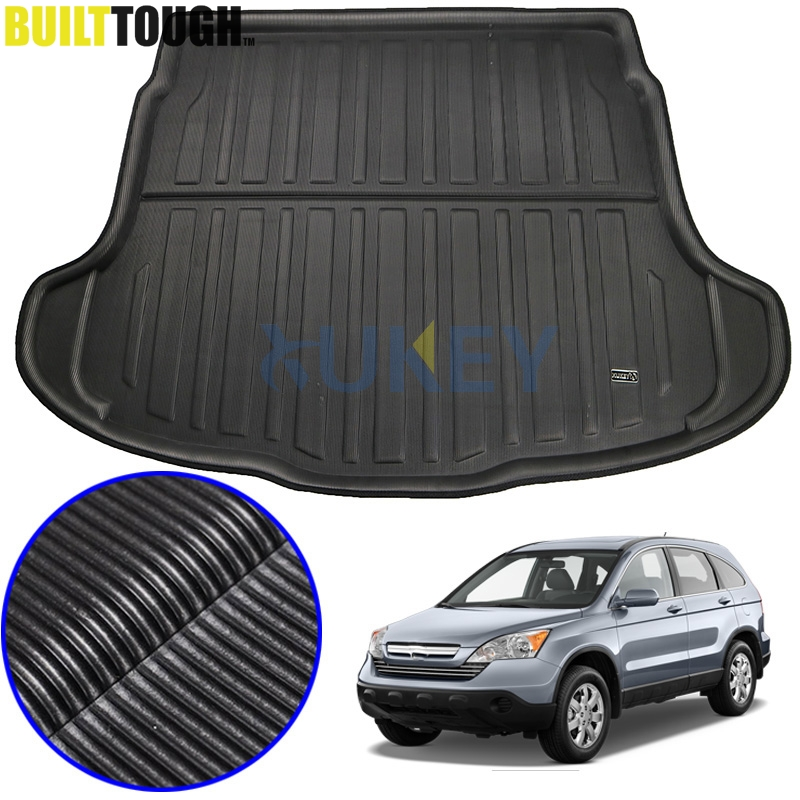 S Durable Lip Protector tech automotive 500L 12-ON Heavy Duty Car Boot Trunk Liner Water Resistant