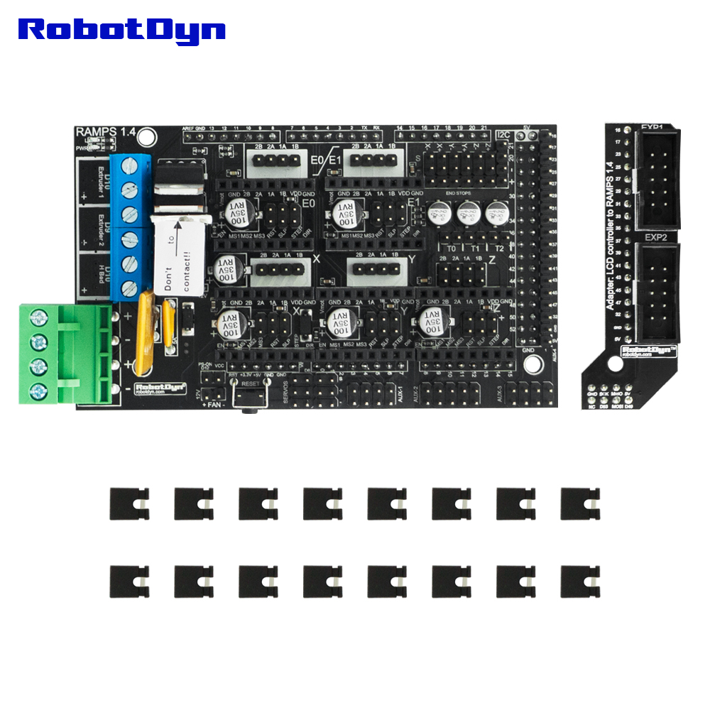 PHOTO==TOP==GR-00000012==RAMPS1.4-SHLD-V20==With Smart adapter