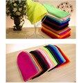 2017 Nuevo Color Del Caramelo de Algodón Que Hace Punto Hombres Mujeres Sombreros Girls Muchachos gorras Gorros Moda de Señora Desgaste de la Cabeza de accesorios sombreros cap