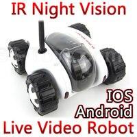 Home security alarm beveiligingssysteem Cloud Rover Wifi iOS Android Remote Control RC Auto cars Spy Tank Robot met ip camera FSWB