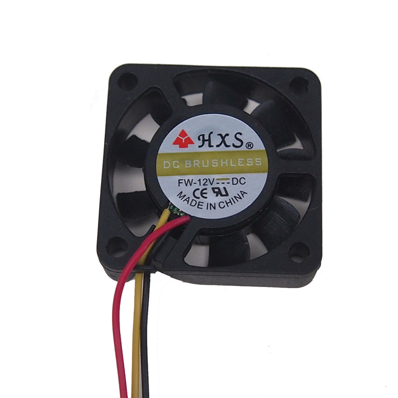 Graphics Card Fan Brushless Cooling Fan 4010 40x40x10mm 12V 0.1A 2Pin Red USA