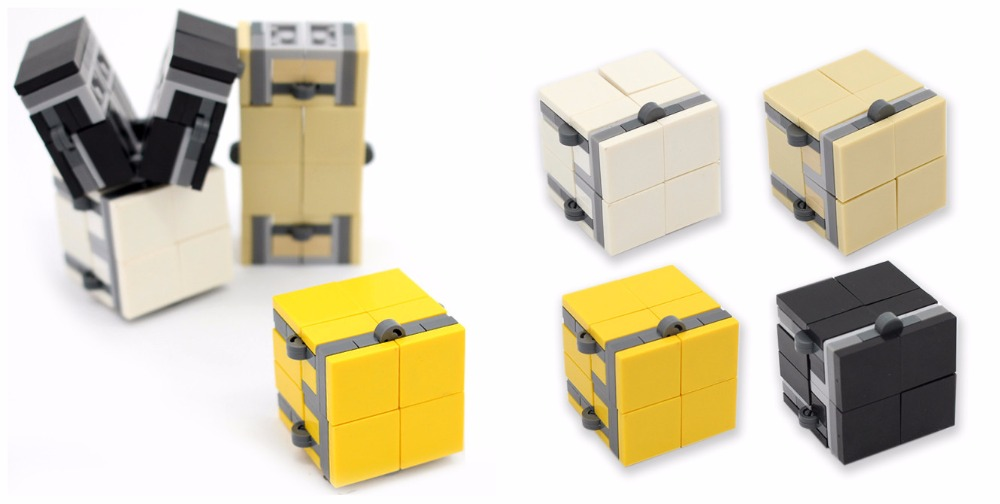 2pcs/lot Infinity Cube 64PCS Assemble Building Blocks Cube Toys Time-limited Cube Decompress Unlimited Transforming Cube Toys enlarge