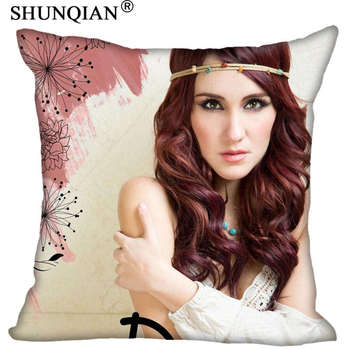 Custom Square Pillowcase Dulce Maria soft Pillow Cover Zippered &F size 20X20cm,35X35cm,40x40cm image