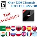 GOTiT H96 Pro + (3G + 32G) + Power S912 Android 6.0 Árabe IPTV Francês Alemanha países baixos Portugal Italiano Adulto xxx Europa Caixa de IPTV