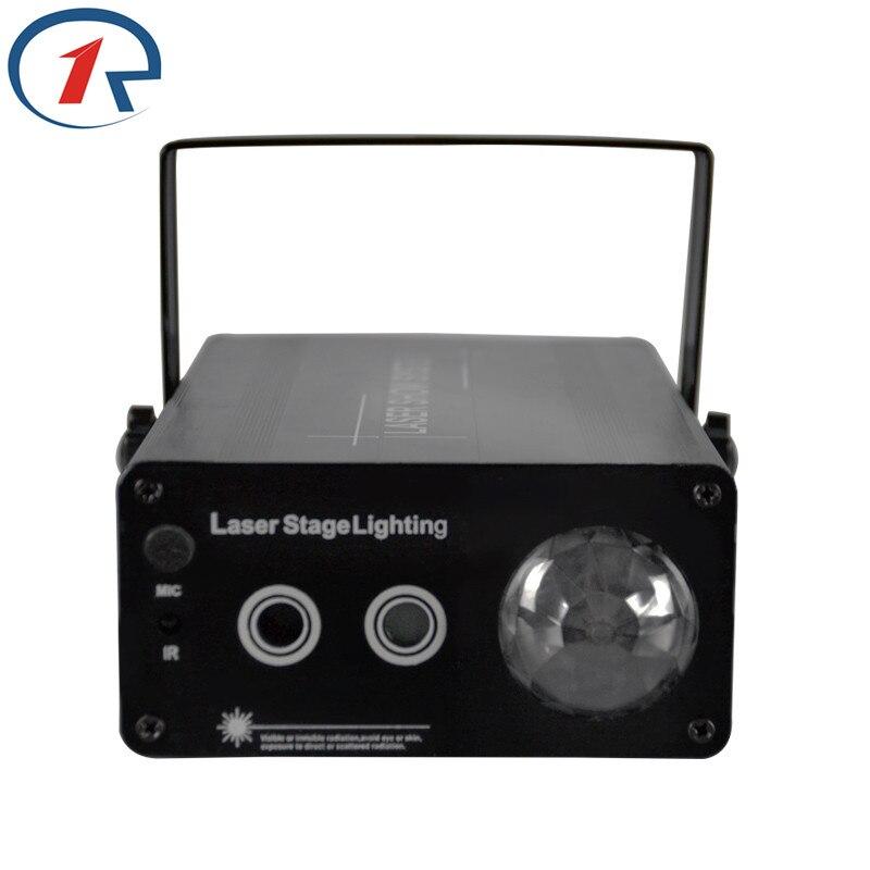ZjRight 20W IR Remote Fullcolor Red Green Laser Stage Light Blue Water Effect Light KTV bar Disco DJ lighting Christmas headlamp