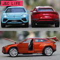 Hot New 1:32 Urus Cars Metal Alloy Diecast Toy Car Model Miniature Scale Model Sound and Light Emulation Electric Car