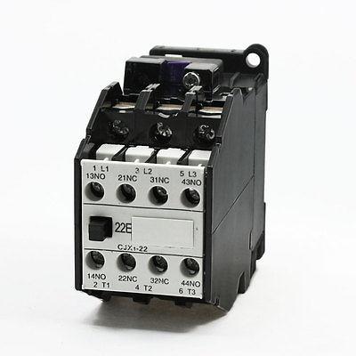 цена на CJX1-22A 24V 29V Volts Coil 2NC 2NO AC Contactor Ui660V Ith31.5A