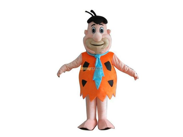 Hot sale 2014 Cartoon Character Adult cute Fred Flintstone Dress cosplay Halloween Party Costume  sc 1 st  AliExpress.com : fred flintstone costume  - Germanpascual.Com