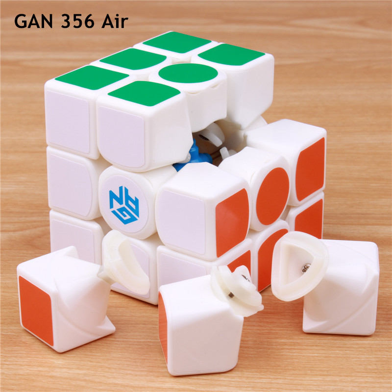 цена на GAN 356 air speed cube GANS cubo magico profissional puzzle 356air cube classic toys