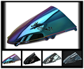 6 Color For 2012-2014 1199 Panigale Aftermarket  Airflow Double Bubble DB PC  plastic Motorcycle Windshield Windscreen