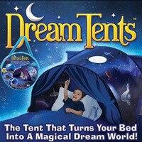 חלום קסומות החדשנית Playhouse אוהלי ילדים צצים מיטה לישון תיק חורף הפלאות מתנה לילדים