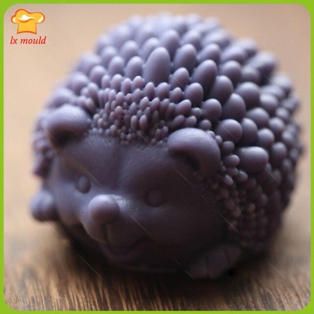 Us 1368 Kleine Igel Seife Form Silikonform Hedgehog Kerze Form Candy Freies Schokoladenform In Kleine Igel Seife Form Silikonform Hedgehog Kerze