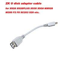 Gốc ZK chấm công kiểm soát truy cập u đĩa adapter cable đối với X628 X628PLUS X638 X638PUS HÌNH X938 MX628 M300 F2 F8 SC203 S20