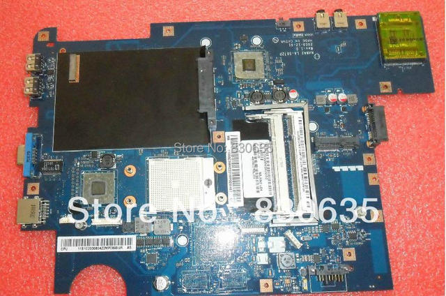 G555 A NAWA2 LA-5972P DDR2   laptop motherboard LEN  5% off Sales promotion, FULL TESTED,
