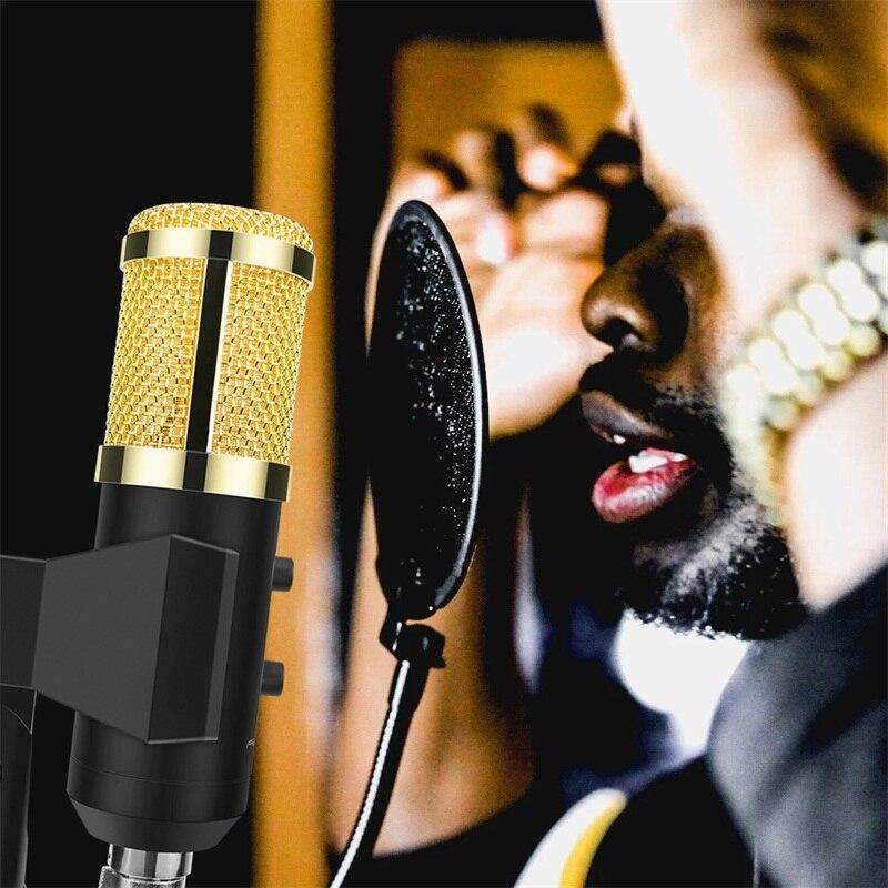 Ituf Professional Condenser USB Microphone BM900 for computer BM-800 Upgraded Audio Studio Vocal Recording KTV Adjustable volume-9