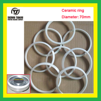 TJ Low Price Ceramic Ring For Ink Cup Pad Printing Fit Diameter 70mm 1 Piece