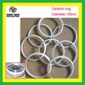 TJ Baixo preço anel de Cerâmica para a tinta de impressão da almofada do copo Diâmetro 70mm 1 Peça