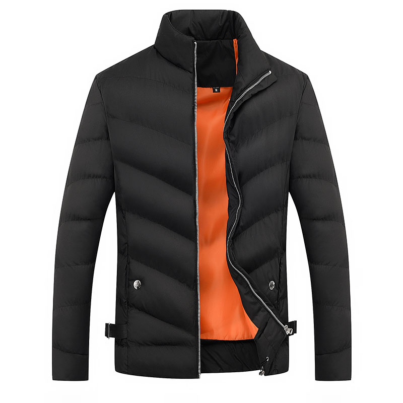 Loldeal Men's Lightweight Water-Resistant Packable Down Jacket Heavy Quilt Winter Classic Short Puffer Resistant Bomber Coat