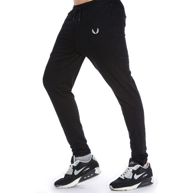 Amazon Quality Drop Shipping Fashion Pants Mens Tracksuit Bottoms Cotton Fitness Skinny Joggers Sweat Pants Casual