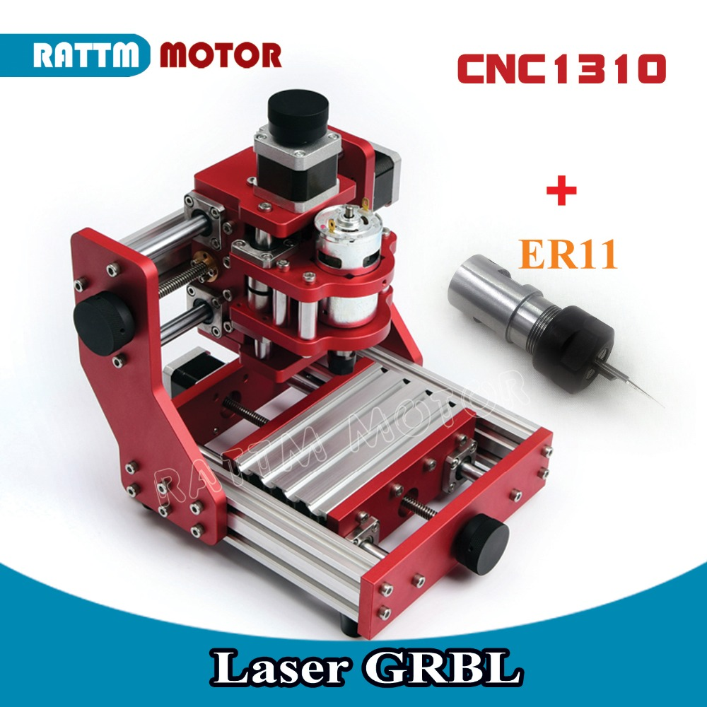 EU/DE Delivery!! CNC 1310 GRBL control DIY Mini Router machine Plastic, Wood, Acrylic, Metal Cutting Engraving Machine