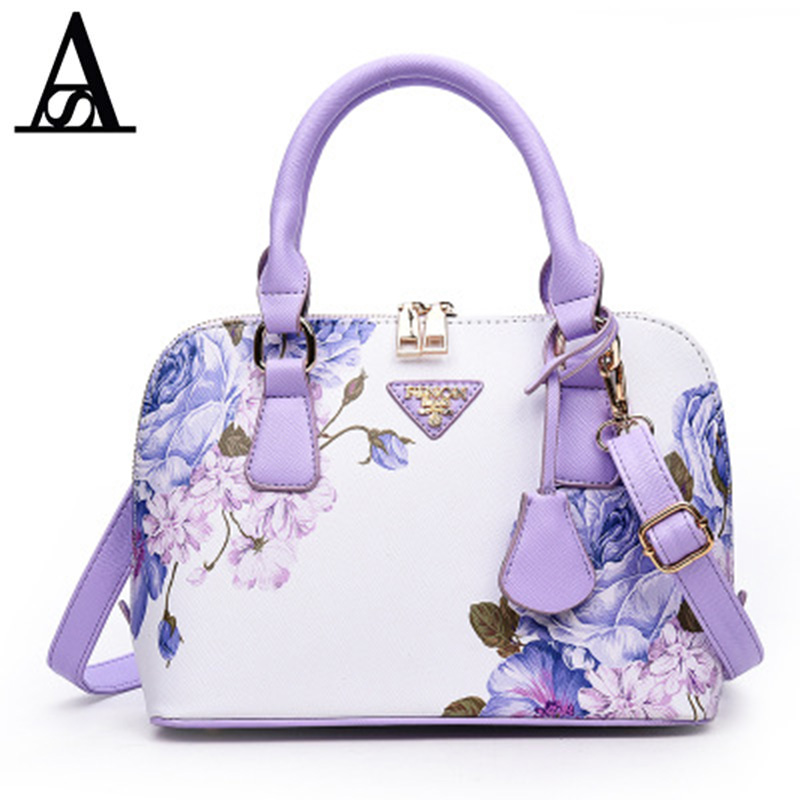 AITESEN Flowers Women Messenger Bags Luxury Handbags Women Bags Designer Sac A Main Mochila Feminina Bolsa Kors Canta Louis Bags aitesen tote leather bag luxury handbags women messenger bags designer sac a main mochila bolsa feminina kors louis bags