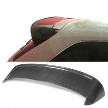 A3 JC style carbon fiber rear trunk lip spoilers wings for Audi A3 Sportback 2014UP