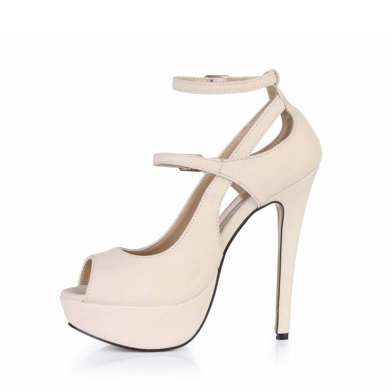 2a3e76bfb Новый 2016 сексуальная платформа сандалии обувь женщина на высоких каблуках  женщины дамы партия валентина обувь zapatos mujer sapato feminino sandalias
