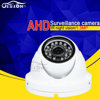 Indoor White Dom High Quality AHD Car Camera Free Shipping 720P 1080P 4Pin AV BNC For Option Night Vision Backup Cam Cheap Sale