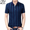 MR.JIM 2017 Brand Clothes Summer New Men's POLO Shirt Fashion Striped Style Short-sleeve Polo Shirt Slim Large Size Leisure