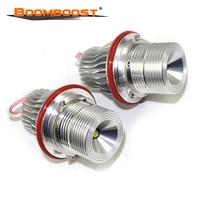 2Pcs/Set Angel Eyes LED MARKER Bulb 7000K CREE Chip LED Halo silver 10W FOR BMW E39/E64/E60/E66/E83/E87