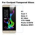 Tempered Glass Film For Coolpad Porto S E570 Modena E501 Y75 Y76 Y80D K1 Mini F1 Cool 1 Note3 Screen Protector Case