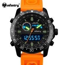 Армейские часы для мужчин, цифровой светодиодный наручные часы, мужские часы, Топ бренд, армейские, тактические, спортивные, силиконовые часы, Relogio Masculino