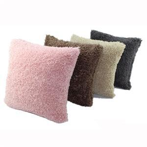 Heb Een Onderzoekende Geest Super Zachte Pluche Mongoolse Faux Fur Throw Auto Sofa Thuis Decor Kussenhoes Winter Warm Kussenslopen Goede Warmteconservering