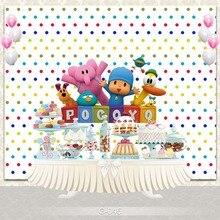 Custom Birthday party Photography backdrops Studio Photo backgrounds for photo photographers Newborn Baby Shower 7x5ft purple unicorn newborn baby shower custom photo studio backdrops background polyester 220x150cm