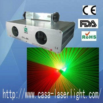 China dj equipment 80W red+40mW green laser for disco party show