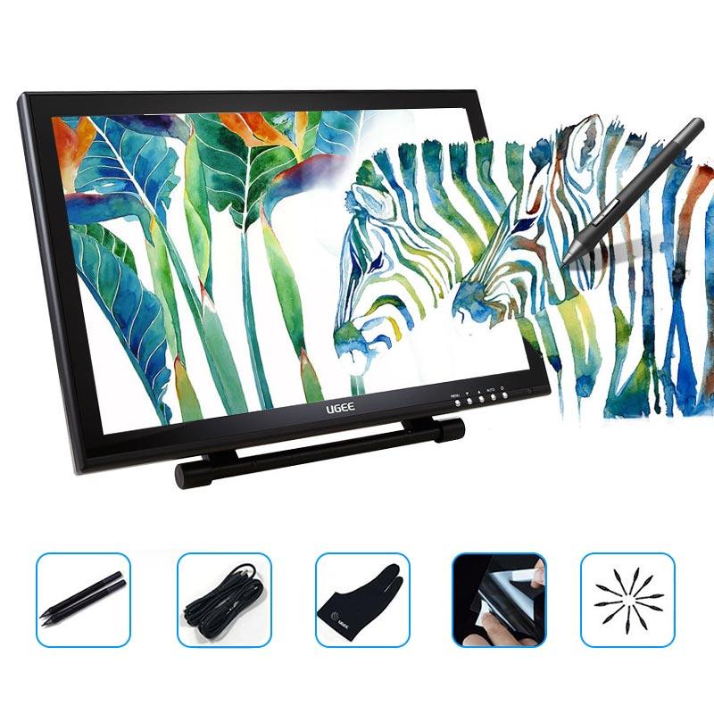 Ugee 1910B 19 high quality 5080 LPI Smart Graphics Digital font b Tablets b font IPS