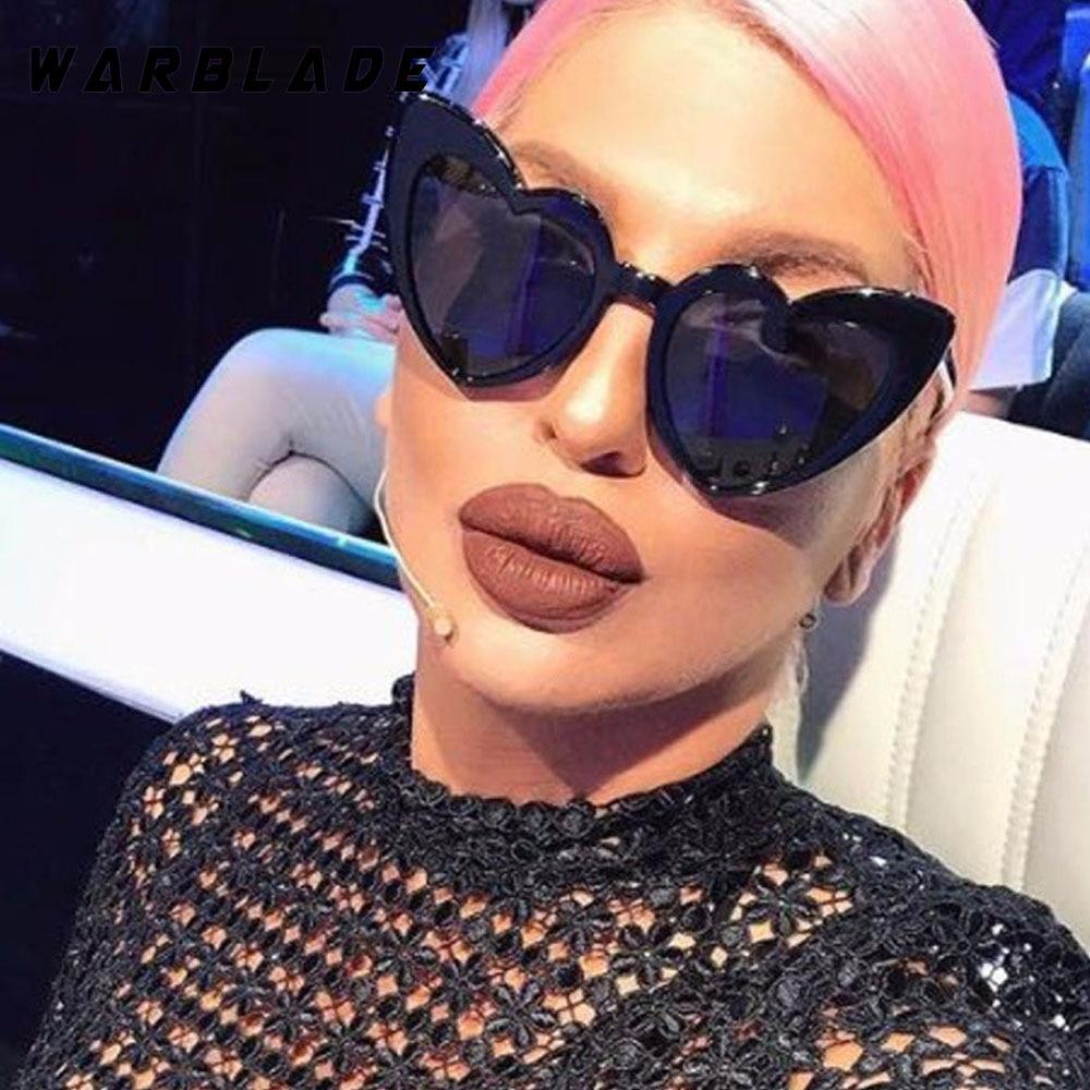 2018 Wanita kacamata Matahari Pria Retro Jantung Cat Eye glasses - Aksesori pakaian - Foto 5