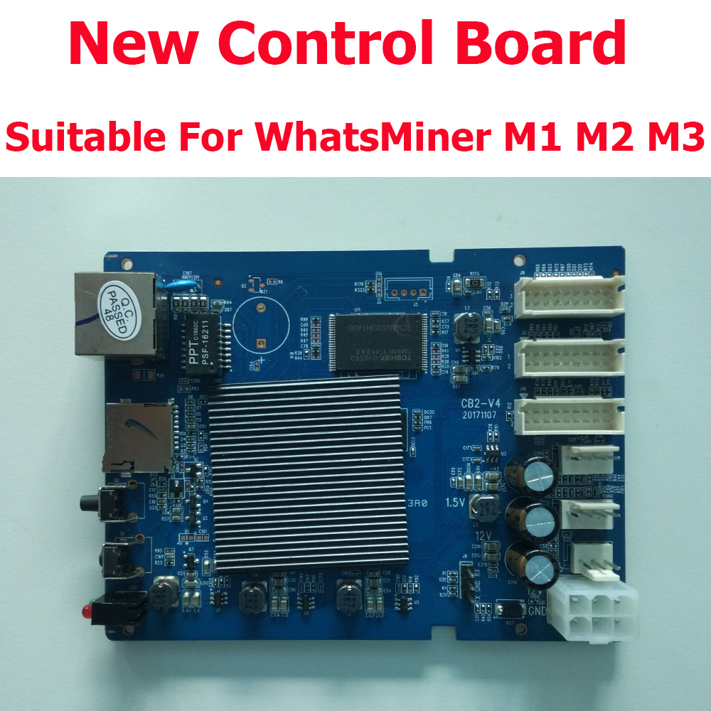 Free shipping New Control Board for Bitcoin Miner WhatsMiner M1 M2 M3 and M3-V2 In Stock