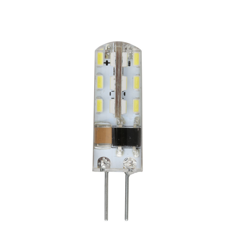 Viewi ampoule 10x G4 led bulb mini Ac/DC12v light DC 12 Volt lamp bulbs Ac110v 220v smd3014 24leds high bright chandelier lights