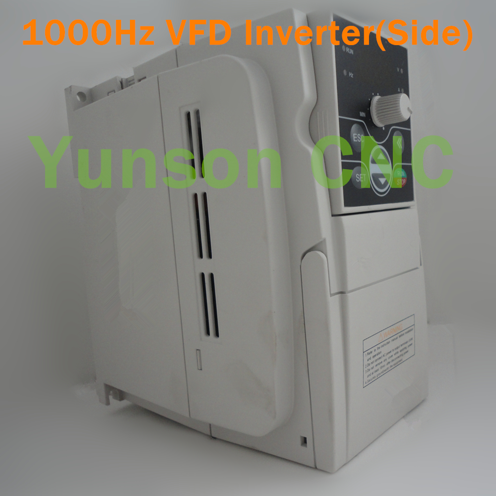 2.2KW VFD Inverter Variable Frequency Drive 3hp 1000Hz for Mould Metal Spindle Motor,220V Single Phase Input 220V 3phase Output-in Inverters & ...