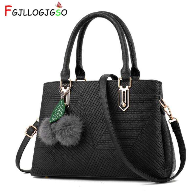 8d1d4a623a2c FGJLLOGJGSO Лидер продаж Модные женские кожаные сумки наклонные женские  сумки на плечо дамские хозяйственные сумки мягкая