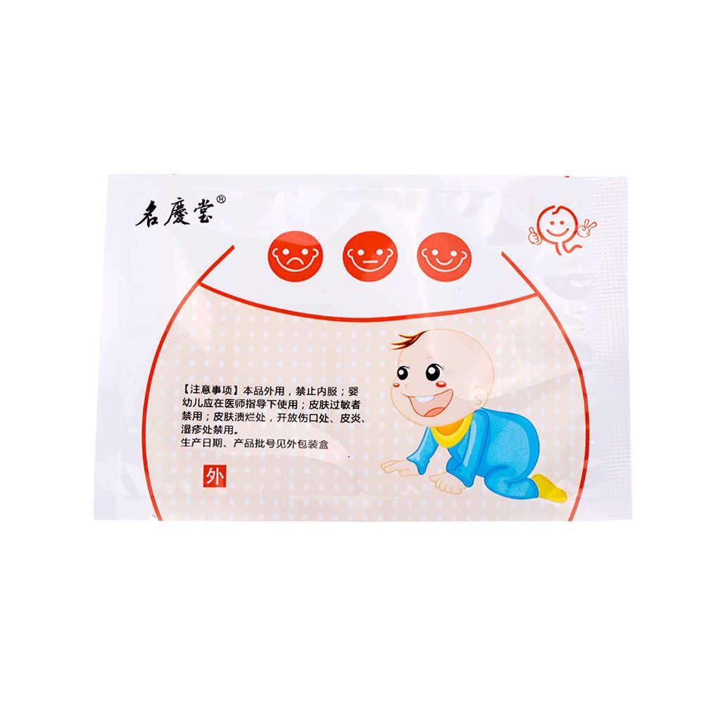 8 cái/2 hộp Bé Dừng Ho & Đờm Vá Bé Thảo Dược Anti-ho Thạch Cao cho Trẻ Em Giảm ho Làm Ẩm Phổi Thạch Cao