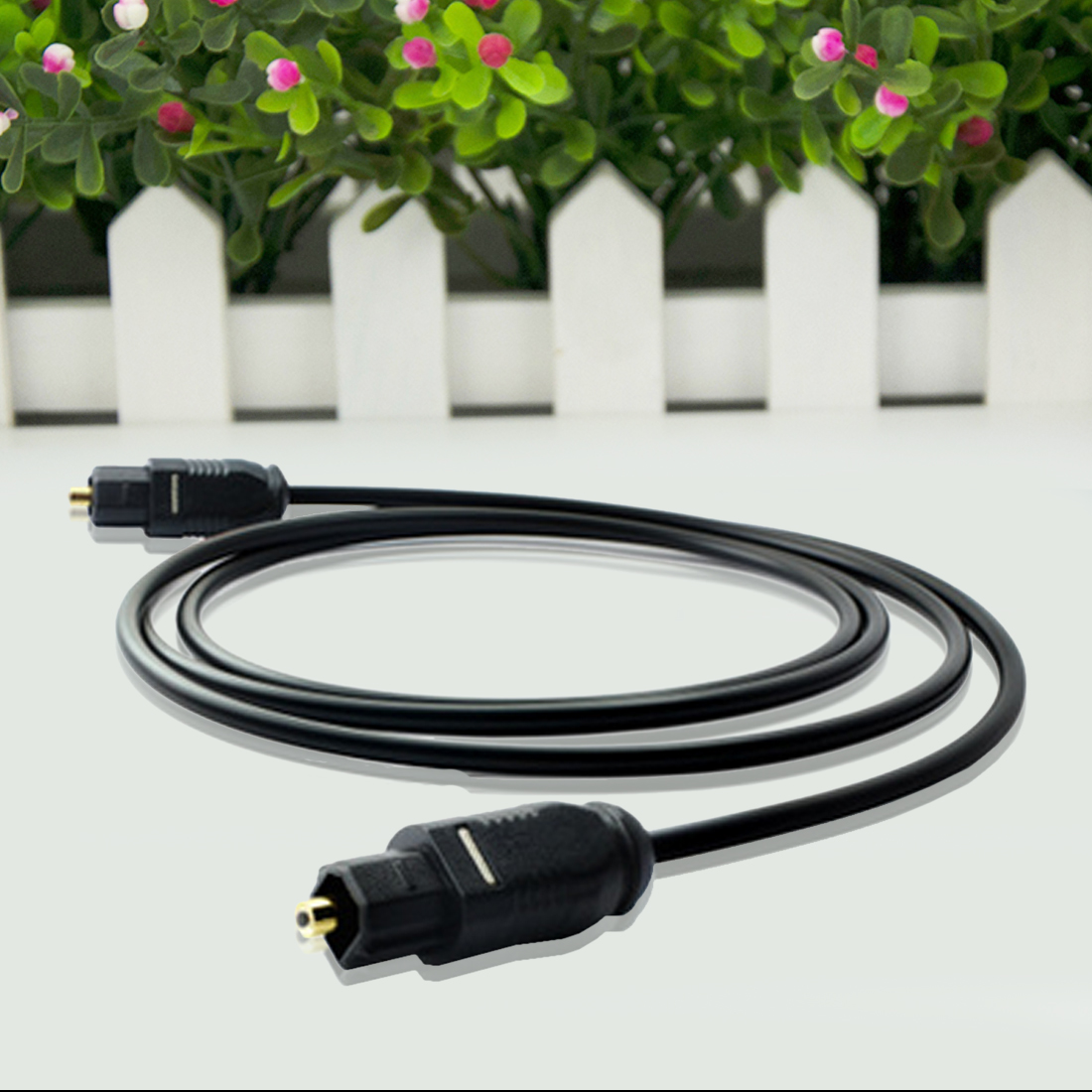centechia New 1m 1.5m 2m 3m M/M Male Digital Audio Optical Fiber Optic For Toslink Cable Cord DVD CD Hot Worldwide 5 5 premium digital optical fiber optic toslink male to male audio cable golden black 500cm