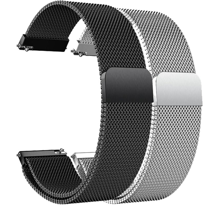 16MM 18MM 20MM 22MM Milanese Wirst Straps For Xiaomi Huami Amazfit Pace Stratos 2 2S Youth Bip Smart Watch Band Accessories