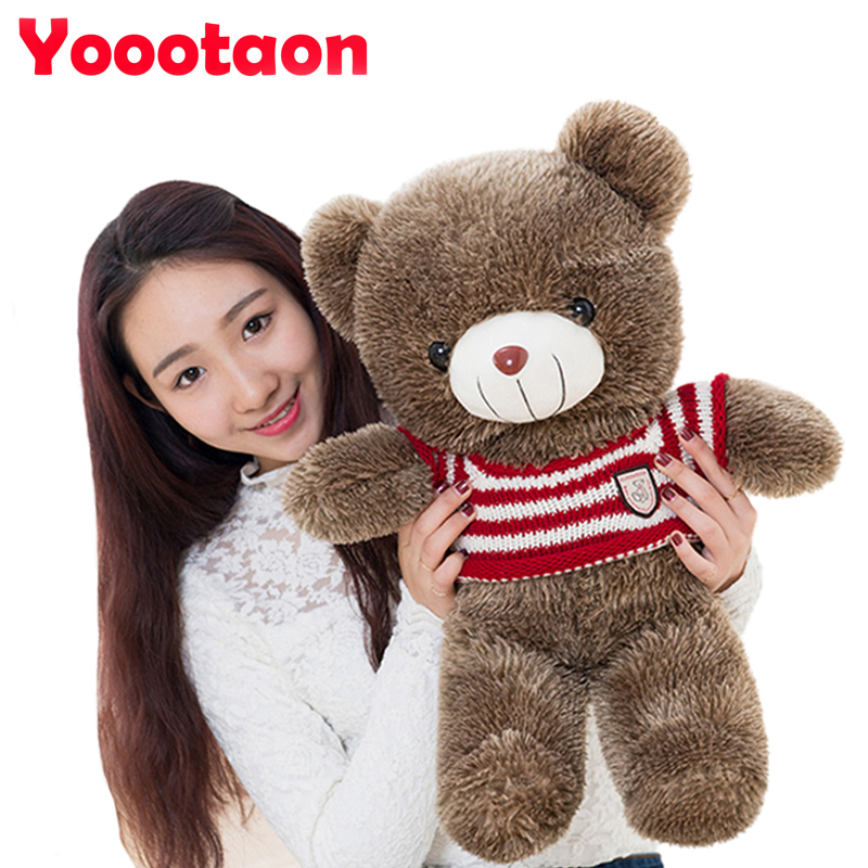 60cm Kawaii Teddy bear kids plush toys High-quality baby toys stuffed dolls for children free shipping 28cm kawaii animal plush dolls kids stuffed toys for children soft comfort baby toys cows rabbit fox teddy bear