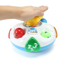 Baby Toys Kids Electric Turn Around Musical Toy With Sound And Light Early Educational Toy Infant