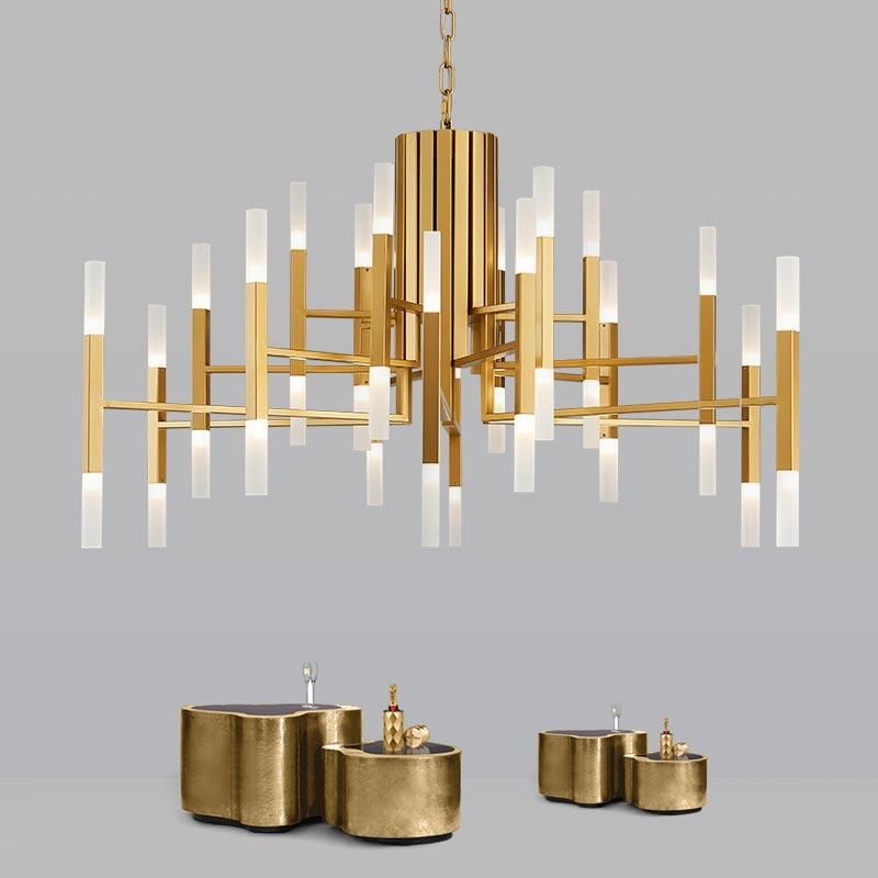 Modern Acrylic Led Pendant Light Nordic Living Room